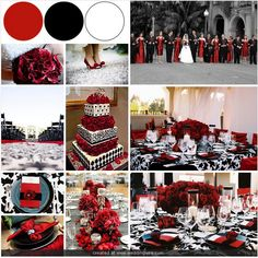I made a few inspiration boards for a fellow bee today who wanted a few options for what would go well with green and I had fun whilst doing it so I t Black Wedding Themes, Black Red Wedding, White Wedding Decorations, Wedding Color Schemes, Wedding Colors, Wedding Styles, Wedding Set Up, Dream Wedding, Wedding Ideas
