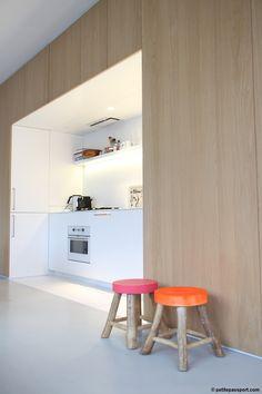 &Klevering Oudeschans// nook kitchen//
