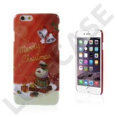 Christmas (Snemand & Klokker) iPhone 6 Cover