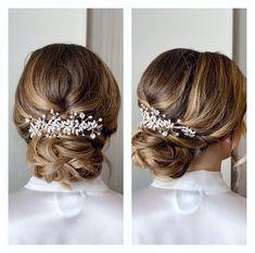 Bride Hair Accessories, Wedding Hair Clips, Bridal Hair Vine, Bridal Headpieces, Hair Pieces, Pearl Bridal, Hair Accessory, Suit, Hairdresser