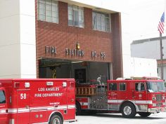 Fire Station 58, Los Angeles City FD