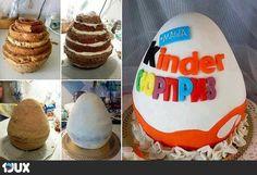 Überraschungs-Ei Torte
