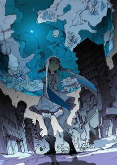 Anime Art, Manga Art, Amazing Art, I'm Fine, Concept Art, Character Art, Character Design, Animation, 2d Art
