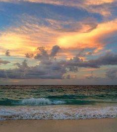 Playa El Agua. Isla de Margarita. Mar Caribe. Venezuela