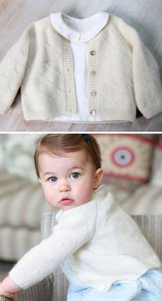 knitting pattern for princess charlotte cardigan this baby cardigan sweater is designed by the one princess charlotte wore in her first birthday photographs size 6 sizes preemie 1 newborn 3 months 6 9 months 12 months and 18 24 months - PIPicStats