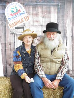 Love family at 13th Annual Saddle Up! in Pigeon Forge