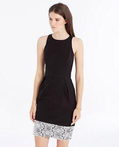 Image of Lace Hem Sheath Dress