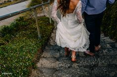 beautiful real bride Sarah in our custom altered backless 'Danna' gown.   Photo: Swirl Photography  |   Karen Willis Holmes