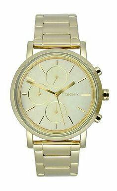 Dkny goud horloge
