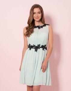 Little Mistress Floral Lace Dress