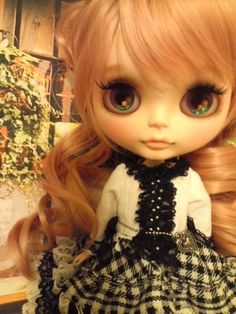 momo.b custom Blythe  Buy her here:   #blythe #blythedolls #kawaii #cute #rinkya #japan #collectibles #neoblythe #customblythe