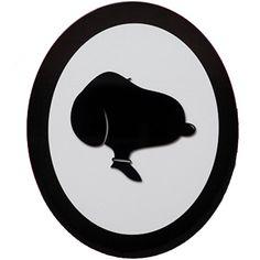 O Quadro Silhueta Snoopy Adot é pra quem é fã do desenho animado Snoppy! &Ea...