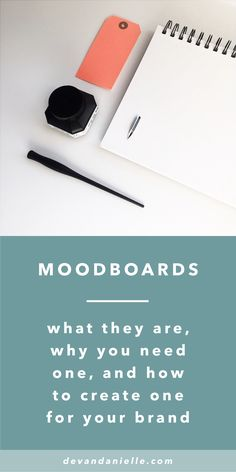 Moodboards: What they are, why you need one, and how to create one for your brand. By Devan Danielle. — You've probably heard this term being tossed around when it comes to establishing your brand's visuals, but what does it really mean? What is a moodboard, why do you need one, and how do you even go about creating one? I am a big believer in using moodboards to help you discover your aesthetic and establish your brand direction so we are going to cover each one of these questions today.