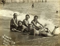 Crimea, Theodosia, summer 1940. Happy young girls. The most beautiful, with dark braids - Anya Sopova. 31 January 1943, after the brutal torture Anya was dropped into the shaft hole number 5. She was buried in a mass grave of heroes in the central square of the city of Krasnodon.