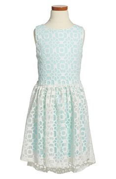 Elisa B Floral Cutout Sleeveless Dress (Big Girls) available at #Nordstrom