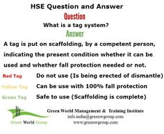 HSE officer interview question and answer. www.greenworldsaudi.com