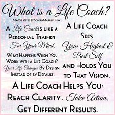 What is a Life Coach? » Maggie Reyes