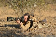 Photo safari with a cheetah... by Chris du Plessis on 500px