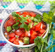 Om du vill ha riktig mexikansk snits på salsan – använd silverlök.
