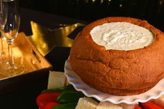 Tzatziki Dip in a KING'S HAWAIIAN bread bowl is the supporting roll at your awards season party.