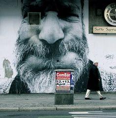 Street Art by Mentalgassi (Berlin, Germany)