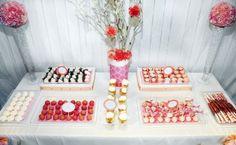 Glam girl dessert table