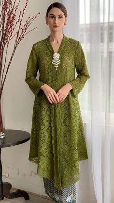 Kebaya Lace, Kebaya Hijab, Batik Kebaya, Kebaya Dress, Batik Dress, Model Kebaya Muslim, Model Kebaya Modern, Kebaya Modern Dress, Dress Muslim Modern