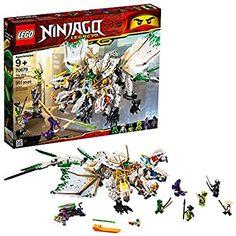 Lego Ninjago Legacy The Ultra Dragon 70679 Building Kit, 2019 Pieces) Ninja Battle, Ninja Warrior, Lego Online, Lego Ninjago Movie, Ninjago Games, Ninjago Lego Sets, Lego Marvel's Avengers, Fire And Stone, Robots For Kids