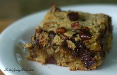 Plan to Eat - Chocolate Chip Blondie Brownies - cookfromscratch