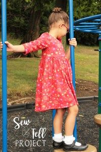 PDF sewing patterns for girls sizes 2t-12 Simple Life Pattern Company #SLPco #SLPcoAdelyn knit bodice dress scoop back bow back open back top and dress knit woven dress pattern with long sleeves fall winter spring summer sewing patterns for back to school blog tour. IG & Pinterest @SLPco FB: SimpleLifePatterns and @SLPcoFanGroup www.thesimplelifecompany.com