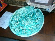 plato en cerámica