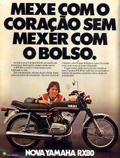 Anúncio moto Yamaha RX80 - 1979