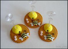Um tema que nunca sai de moda! Essas lembrancinhas das abelhinhas vão deixar sua festa muito mais especial. Confira! Inspire-se!