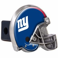 New York Giants Helmet Trailer Hitch Cover  - NFL Multi-Color  #GreatAmericanProducts #NewYorkGiants