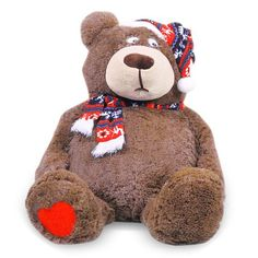 "Hessie 39.37"" Plush Lovers Bear - Brown Hessie http://www.amazon.com/dp/B00DWYZ72C/ref=cm_sw_r_pi_dp_mAQ9tb0BB1B7W"