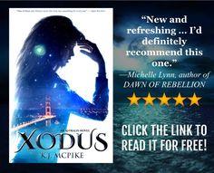 Love urban fantasy books? For a limited time, K.J. McPike is offering free copies of her multi-award-winning urban fantasy novel, XODUS. Grab your copy here: https://www.instafreebie.com/free/2wl1Z