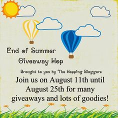 B is for...: Backyard Summer Kit End of Summer Giveaway - Don't forget to enter this awesome giveaway that last until August 25th, 2014!  25 blogs with over $1200 in prizes
