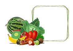 Cartel de precios genérico para tu frutería o verdulería. Fruit Cartoon, Some Ideas, Cl, Plastic Cutting Board, Organic, Healthy, Frame, Design, Free Downloads