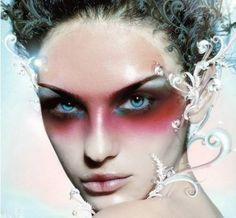 Frosty High Fashion Fantasy Makeup makeup-inspiration