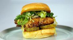 Ranch Fried Chicken Sandwich Recipe | The Chew - ABC.com