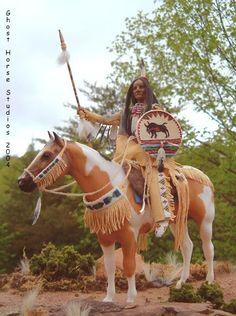 LSQ CM Native American Breyer rider doll and saddle set by Cindy Walker