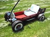 Custom radio flyer wagon pics and ideas? Custom Radio Flyer Wagon, Radio Flyer Wagons, Kids Wagon, Toy Wagon, Sleds For Kids, Dragon Wagon, Little Red Wagon, Old Wagons, Best Kids Toys