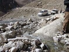 http://planning4holidays.blogspot.in/2014/10/pangong-tso-blue-salt-in-desert.html .. Melting Glacier .. #layers #mountains #Himalayas #chill #mountains #kargil #Leh #journey #road #royal #enfield #bullet #sky #clouds #Kashmir #Ladakh #Jammu #India #HolidayPlans #karu #Diversion #pangong Tso #lake #blue #salt #desert #melting #glacier
