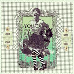 #collage #kurisawawaan #iphone #app #japan #iQon #art #design # lover #word #fashion #idea #brand #fun