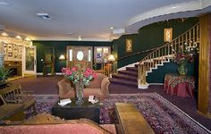 """Hill House Inn of Mendocino Ca as seen in """" Murder She Wrote"""""""
