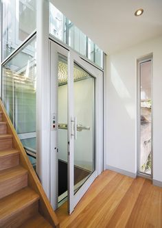 A Glass home elevator fits perfectly in any style decor