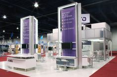 50x50 Custom Modular exhibit . To know more about us visit www.exponents.com or drop us a mail at info@exponents.com
