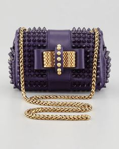 2bbe0d01525e I can deffo think of some outfits to wear this with - Christian Louboutin  Sweet Charity Spiked Crossbody Bag