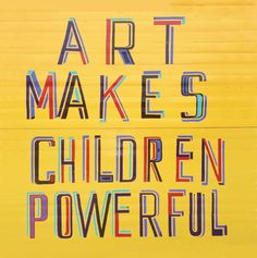 Garden Gallery and open air Visiting artist Bob and Roberta Smith, responds to Yorkshire Sculpture Park's National Arts Education Archive in a new project celebrating the archive's anniv… Painting For Kids, Art For Kids, Art Children, Big Little Quotes, Importance Of Art, Yorkshire Sculpture Park, Sketchbook Cover, Adoption Quotes, Royal Academy Of Arts