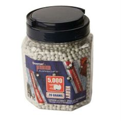 Crosman SAP5020 Airsoft Heavy .20g 6mm BBs Wht 5000ct Review Buy Now